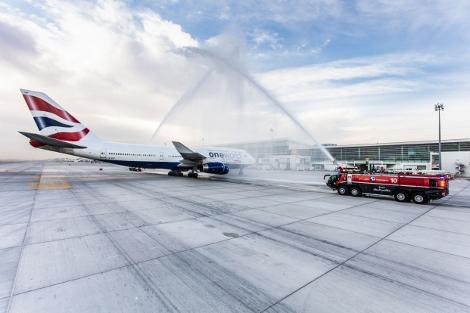 BA Dubai arrival