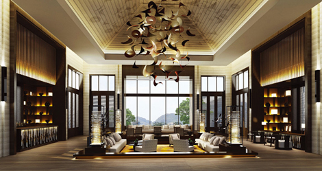 Dusit Devarana Hot Springs & Spa Conghua, Guangzhou lobby