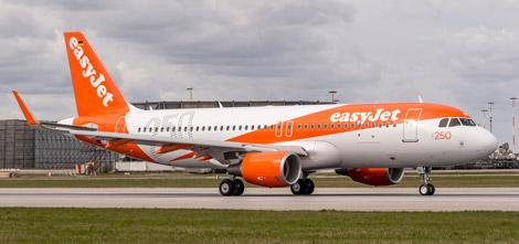 Easyjet\\\\\\\\'s 250th Airbus aircraft