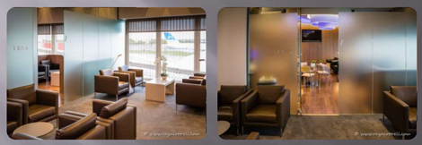 El Al King David lounge Heathrow T4