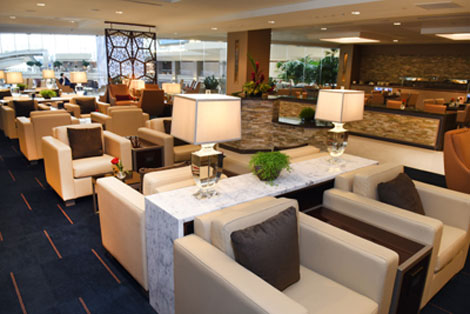 Emirates Lounge at Los Angeles International Airport