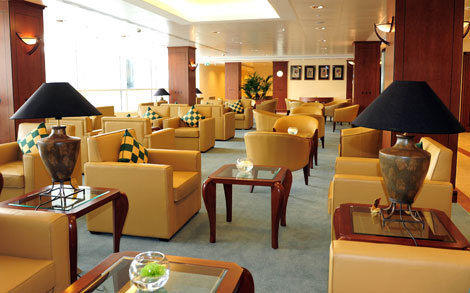 Emirates\\\\' lounge at Birmingham
