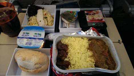 Adult meal, Etihad Airways