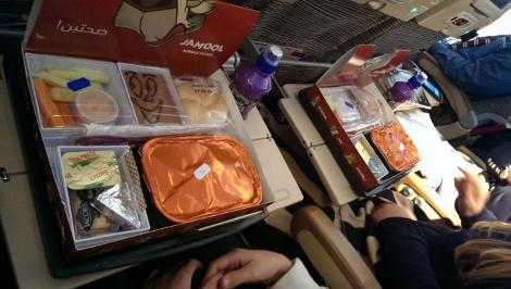 Best meal option etihad international flight