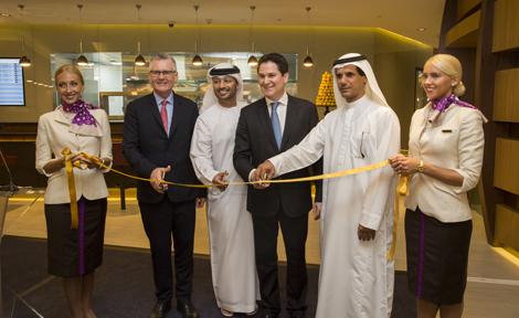 Etihad Airways First Class Lounge & Spa at Abu Dhabi International Airport's Terminal 3