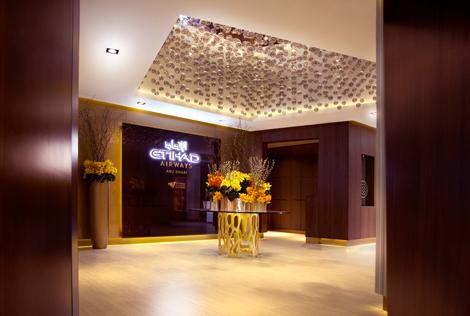 Etihad Airways First Class Lounge & Spa at Abu Dhabi International Airport's Terminal 3