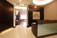 Etihad Frankfurt lounge