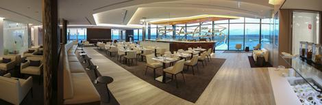 Etihad Airways Melbourne lounge