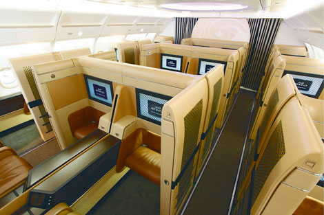 Etihad Airways A340-600 Diamond First Class - Business Traveller
