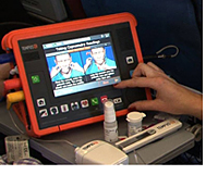 Etihad Airways health monitor