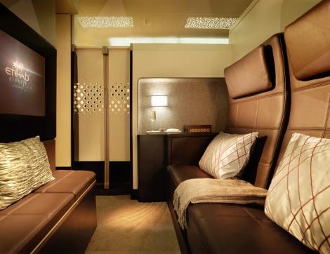 Etihad First Class A380 Residence