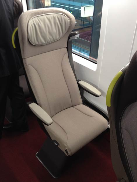 e320 Business Premier single seat