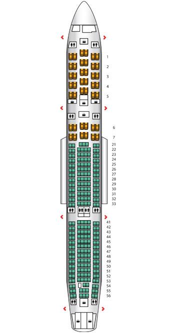 Finnair A340 400 Economy Class Business Traveller The