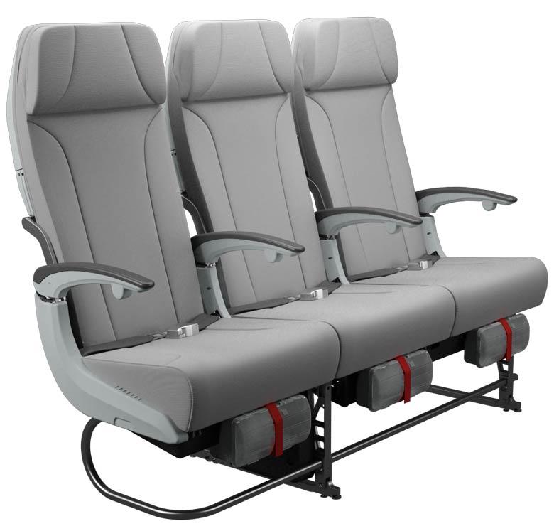 Finnair A350 economy class seat
