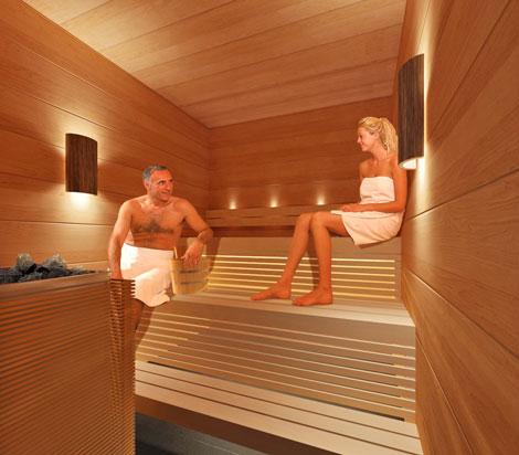 Premium Lounge sauna