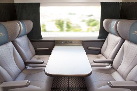 First Great Western first class