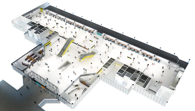 North Terminal departures level