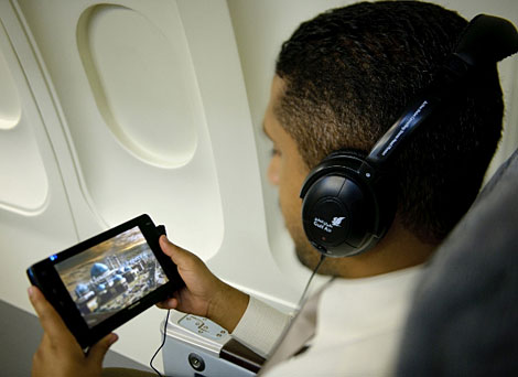 Gulf Air rolls out media players across fleet - Business Traveller