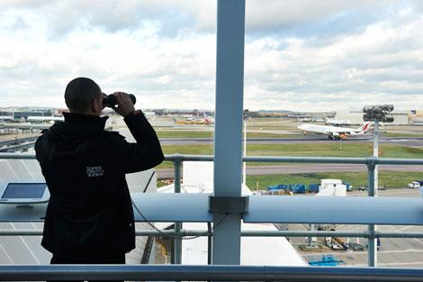 Heathrow T4 viewing platform