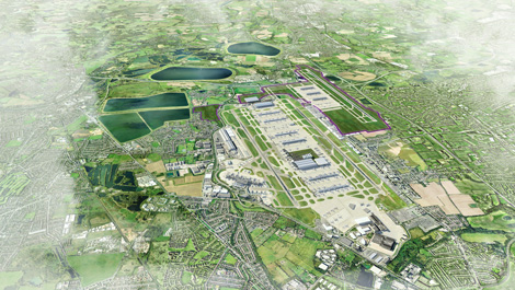 Heathrow third runway proposal
