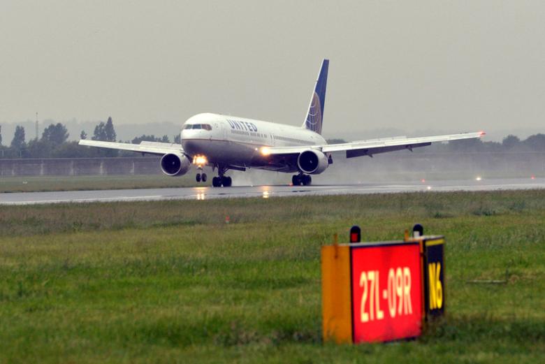 First flight lands at LHR T2