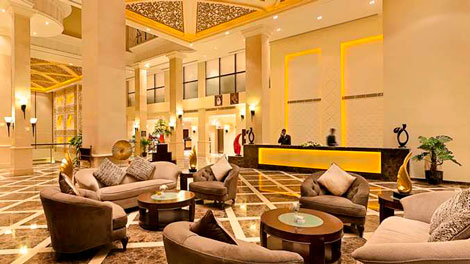 DoubleTree by Hilton Dhahran lobby