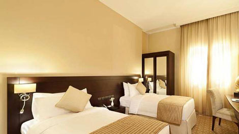 DoubleTree by Hilton Dhahran room