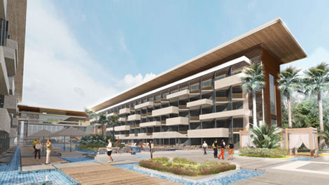 Doubletree by Hilton Ain Al Sokhna pool