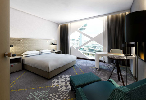 Hilton Amsterdam Airport Schiphol Twin Deluxe Guest Room