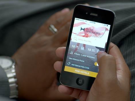 Hilton HHonors app