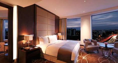 Hilton Jaipur room