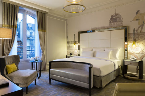 Hilton Paris Opera guestroom
