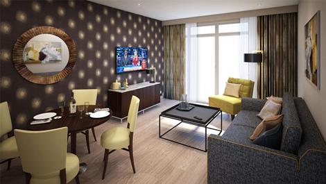 Hilton Excel interior