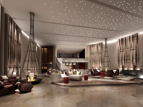 Himalayas Qingdao lobby