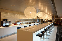 Qantas Hong Kong International Business Lounge