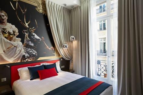 Hotel Indigo Paris - Opera bedroom