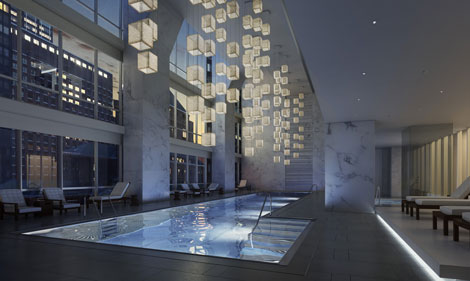 Park Hyatt New York swimming pool