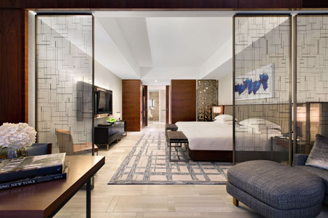 Park Hyatt New York suite