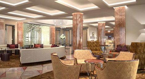 Intercontinental debuts in moscow