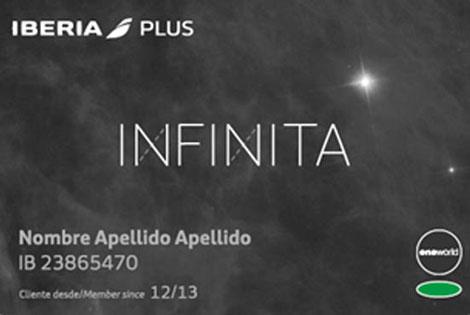 Infinita card