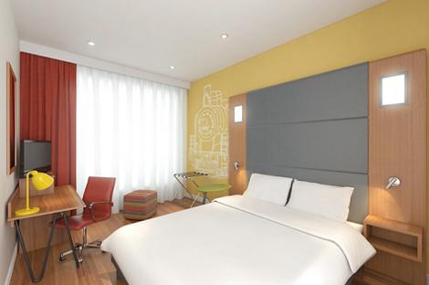 Ibis Styles Crew guestroom