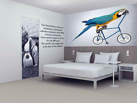 Parrot room