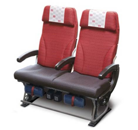 JAL B787-8 economy seat