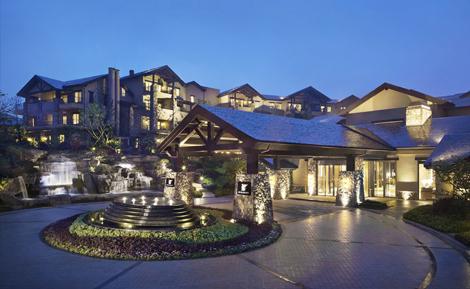 JW Marriott Hotel Zhejiang Anji exterior