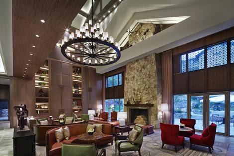 JW Marriott Hotel Zhejiang Anji lobby