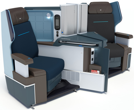 B787-9 World Business Class seats