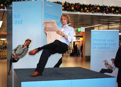 KLM Economy Comfort Zone