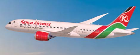 Kenya Airways B787