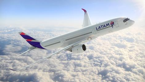 LATAM A350 aircraft