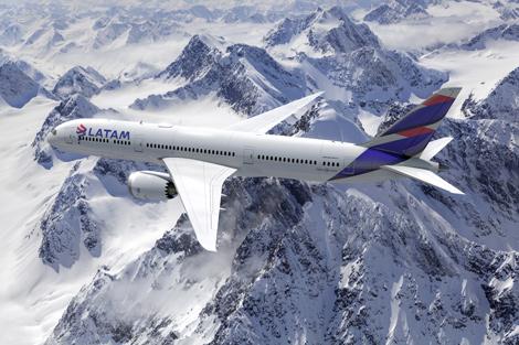 LATAM B787 aircraft